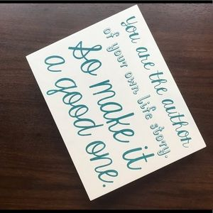 Home Accents Decor Quote Sign